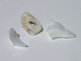 Opale blanche brute
