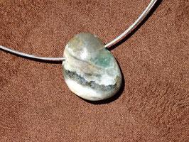 Jaspe océan en pierres percées