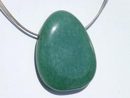 Aventurine verte en pierres percées