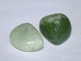 Jade en pierres roulées