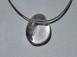 Cristal de roche en pierres percées (roulées)
