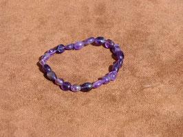 Bracelets en améthyste (irréguliers)