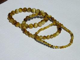 Bracelets oeil-de-tigre clair