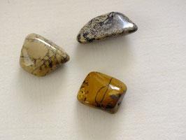 Jaspe dendritique en pierres roulées