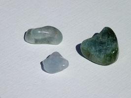 Tourmaline bleue en pierres roulées