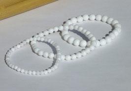 Bracelets en jade blanc