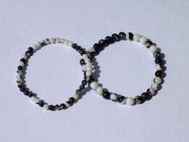 Bracelets en jaspe zébré