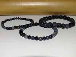 Bracelets en dumortiérite