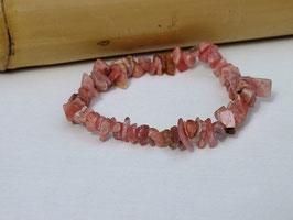 Bracelets baroques en rhodochrosite