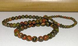 Bracelets en unakite