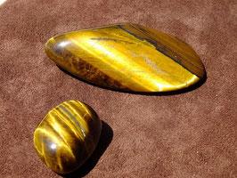 Oeil-de-tigre en pierres roulées