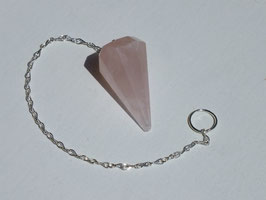 Pendule en quartz rose 05