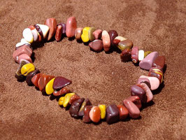 Bracelets baroques en mokaïte