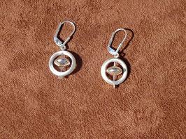 Boucles d'oreilles en argent (B030)