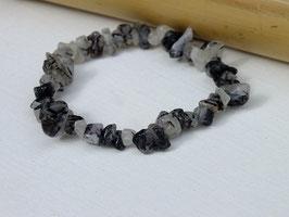 Bracelets en quartz tourmaline baroques