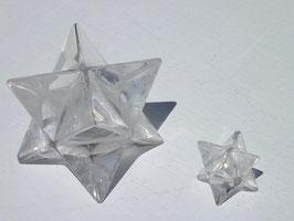 Merkaba en cristal de roche