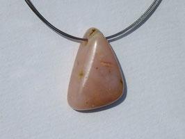 Opale des Andes rose en pierres percées