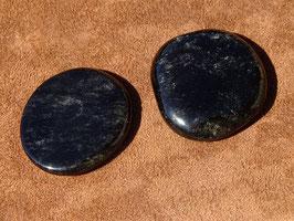 Obsidienne argentée en palets roulés