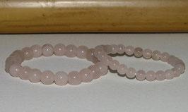 Bracelets en quartz rose