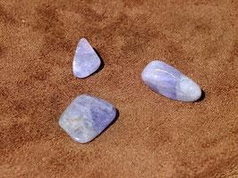 Tanzanite en pierres roulées