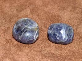 Iolite en pierres roulées