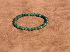 Bracelets en jade africaine 6 mm