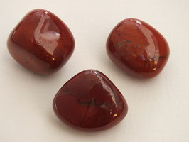 Jaspe rouge en pierres roulées