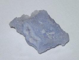 Calcédoine bleue brute