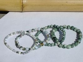 Bracelets en agate d'arbre