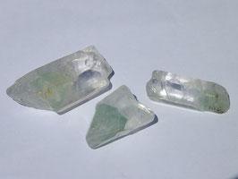 Quartz + calcite verte brute