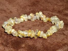 Bracelets en quartz rutile baroques