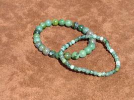 Bracelets en prase