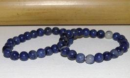 Bracelets en quartz bleu