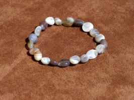 Bracelets en agate du Botswana (irréguliers)