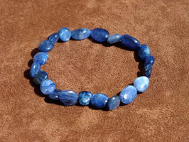 Bracelets en cyanite bleue (irréguliers)