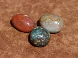 Agate indienne en pierres roulées