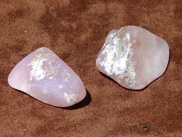 Quartz lavande en pierres roulées