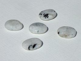 Pierre de lune blanche en palets roulés