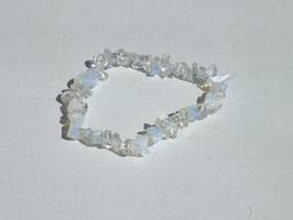 Bracelets en verre opalisé baroques