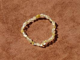 Bracelets en quartz rutile (irréguliers)