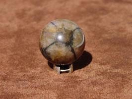 Boules en chiastolite