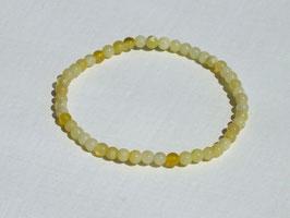Bracelets en opale jaune