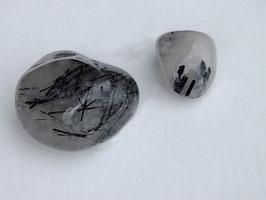 Quartz tourmaline en pierres roulées
