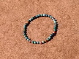 Bracelets en héliotrope