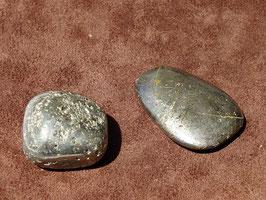 Pyrite en pierres roulées