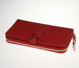 Compagnon  cuir rouge mat