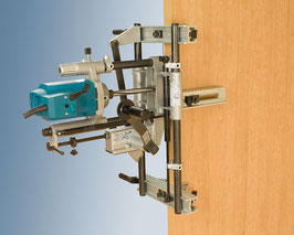 Lock mortiser (Machines for doors)