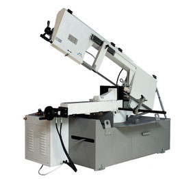 Semi-automatic Horizontal bandsaw machine 2 speeds manual vice