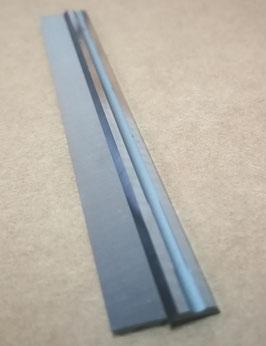 82x5.5x1.1 - N°4 pièces Lames de rabot réversibles au carbure - Ligne professionnelle