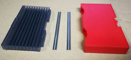 82x5.5x1.1 - N°100 pcs Carbide Planer Blades - Reversible - Professional line